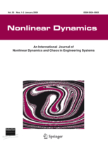 Nonlinear Dynamics template (Springer)