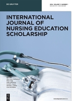 International Journal of Nursing Education Scholarship template (De Gruyter)