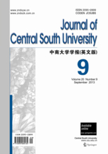 Journal of Central South University template (Springer)