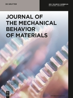 Journal of the Mechanical Behavior of Materials template (De Gruyter)