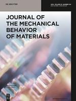 Journal of the Mechanical Behavior of Materials template (De Gruyter)