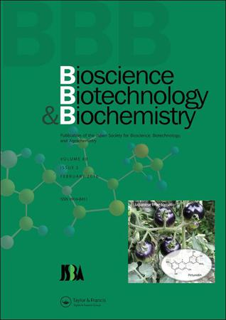 Bioscience, Biotechnology, and Biochemistry template ( Biotechnology)
