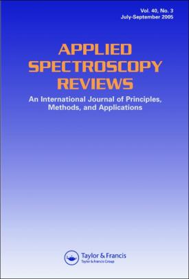 Applied Spectroscopy Reviews template (Taylor and Francis)