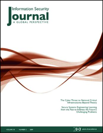 Information Security Journal: A Global Perspective template (Taylor and Francis)