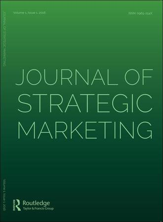 Journal of Strategic Marketing template (Taylor and Francis)