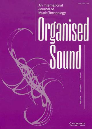 Organised Sound template (Cambridge University Press)