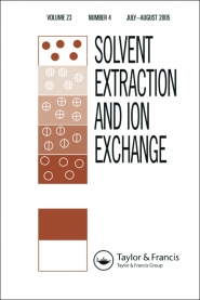 Solvent Extraction and Ion Exchange template (Taylor and Francis)
