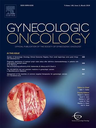 Gynecologic Oncology template (Elsevier)
