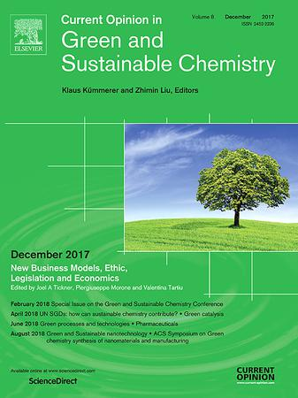 Current Opinion in Green and Sustainable Chemistry template (Elsevier)
