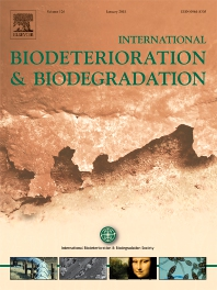 International Biodeterioration & Biodegradation template (Elsevier)