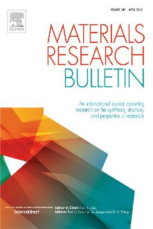 Materials Research Bulletin template (Elsevier)