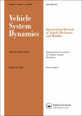 Vehicle System Dynamics template (Taylor and Francis)