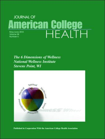 Journal of American College Health template (Taylor and Francis)
