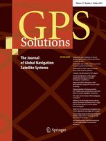 GPS Solutions template (Springer)