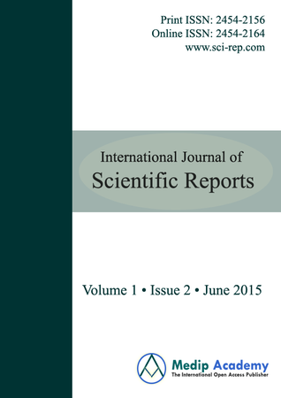 International Journal of Scientific Reports template (Medip Academy)