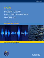 APSIPA Transactions on Signal and Information Processing template (Cambridge University Press)