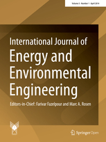 International Journal of Energy and Environmental Engineering template (Springer)
