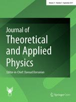 Journal of Theoretical and Applied Physics template (Springer)