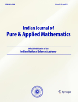 Indian Journal of Pure and Applied Mathematics template (Springer)