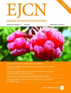 European Journal of Clinical Nutrition template (Nature)