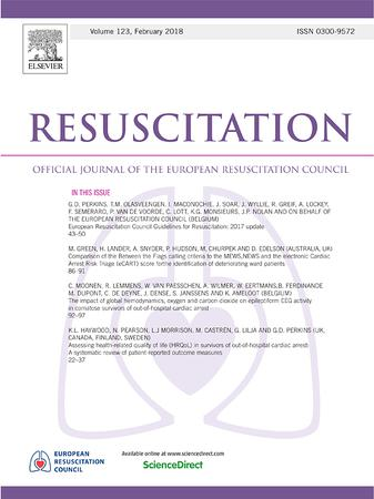 Resuscitation template (Elsevier)