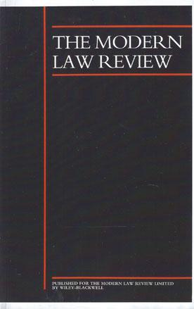 The Modern Law Review template (Wiley)