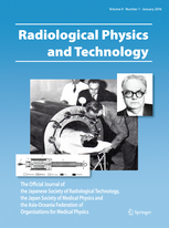 Radiological Physics and Technology template (Springer)