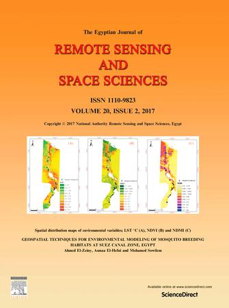 The Egyptian Journal of Remote Sensing and Space Science template (Elsevier)