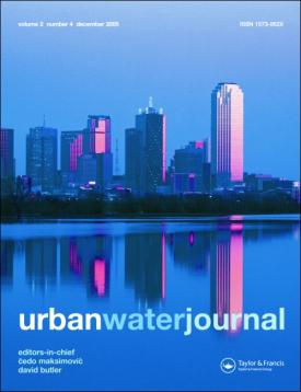 Urban Water Journal template (Taylor and Francis)