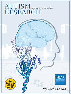 Картинки по запросу autism research journal