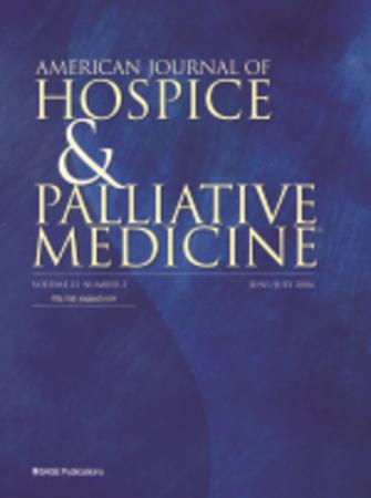 American Journal of Hospice and Palliative Medicine® template (SAGE)