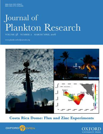 Journal of Plankton Research template (Oxford University Press)