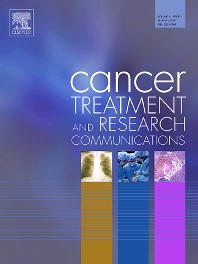 Cancer Treatment and Research Communications template (Elsevier)