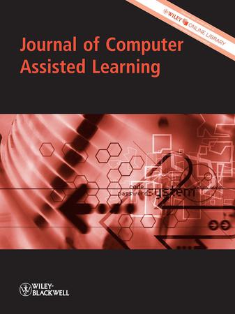 Journal of Computer Assisted Learning template (Wiley)