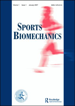 Sports Biomechanics template (Taylor and Francis)
