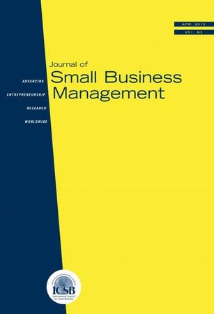 Journal of Small Business Management template (Wiley)