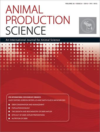 Animal Production Science template (CSIRO Publishing)
