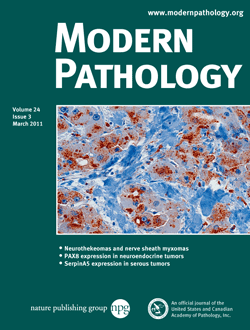 Modern Pathology template (Nature)