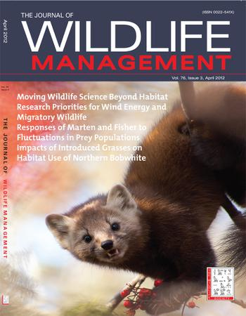 The Journal of Wildlife Management template (Wiley)
