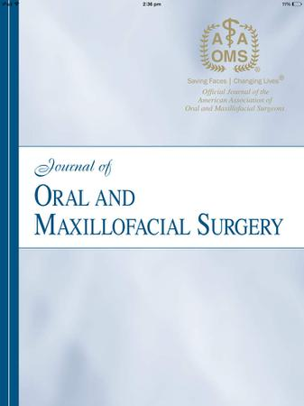 Journal of Oral and Maxillofacial Surgery template (Elsevier)