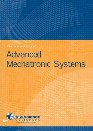International Journal of Advanced Mechatronic Systems template (Inderscience Publishers)