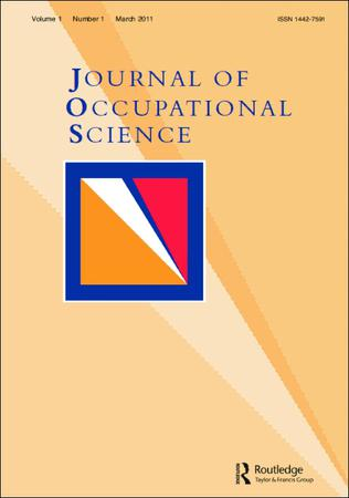 Journal of Occupational Science template (Taylor and Francis)