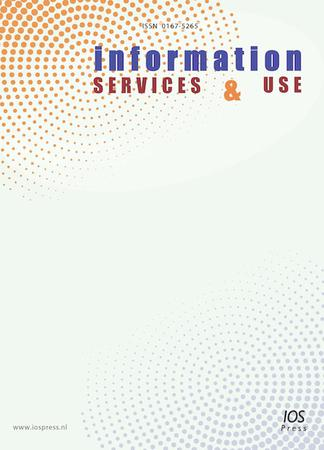 Information Services & Use template (IOS Press)