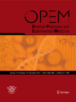 Oriental Pharmacy and Experimental Medicine template (Springer)