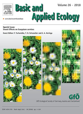 Basic and Applied Ecology template (Elsevier)