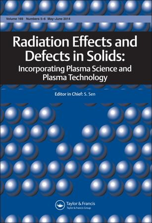 Radiation Effects and Defects in Solids template (Taylor and Francis)