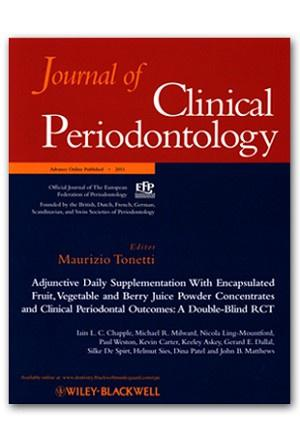 Journal of Clinical Periodontology template (Wiley)