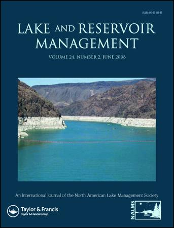 Lake and Reservoir Management template (Taylor and Francis)