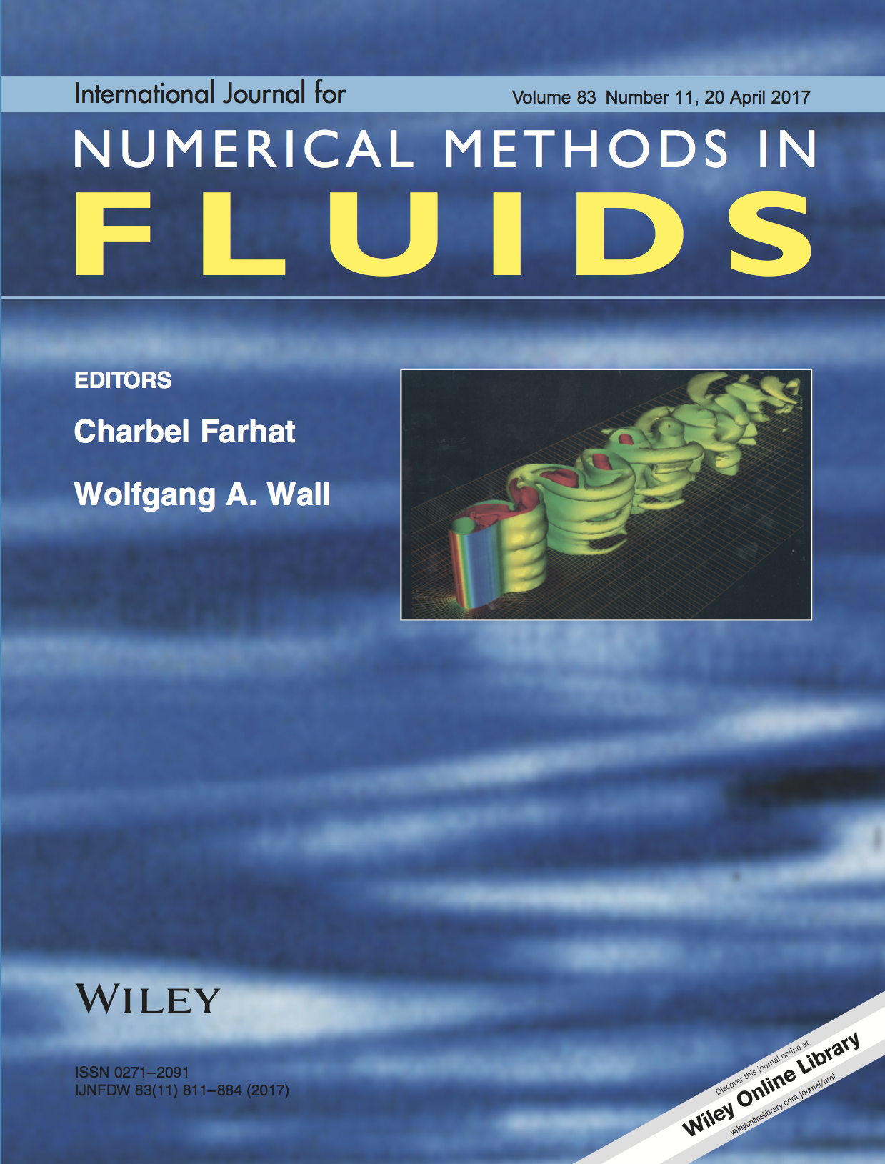 International Journal for Numerical Methods in Fluids template (Wiley)