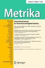 Metrika template (Springer)